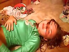 Hot russian shows pink vagina on camera