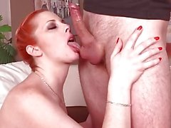 Mature Redhead Genny Red Fucked