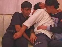 Arab guys trio