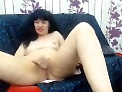 Dirty webcam solo mature housewife Natasja