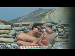 Hot Couple Fucking On Beach 2