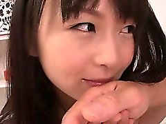 Sweet teen Nozomi Hazuki seduced by two horny businessmen