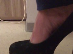 My wife in black Heels 1