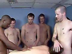 Homosexuell XXX Hard, heiß und heftig mit Kameron Scotts