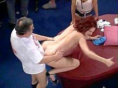 Large amateur gangbang contest - Sex Race