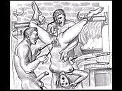 BDSM Porno-Skizzen