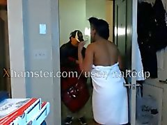 Ebony Thick Chick Drops The Towel