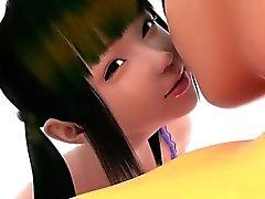 Tuki Girl - Suosituimmat 3D animen sukupuolta arkisto