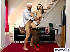 British amateur fucking old man cock