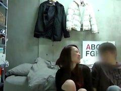 Teen couple hidden voyeur cam