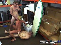 Blowjob heißer großes Stück amerikanischer ersten Blondine Muskel Surfers gu