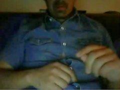 Hot daddy show dick sur webcam