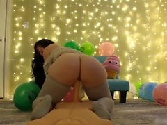 birthday dildo doll ride