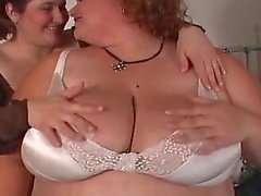 Twin fatty plug each other in the asshole