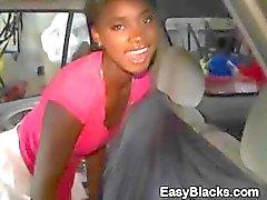 Ex-Namorada Hot Black Obtém bichano comido em carro