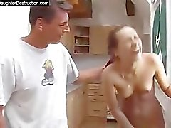 Abuso de adolescente áspera