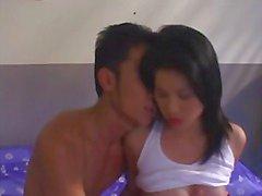 Menina tailandesa quente fodido