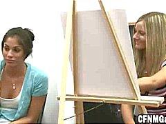 Meisjes Tekening Hard jongens In Art Class