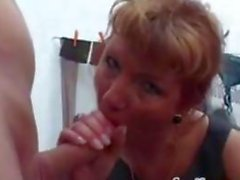 Woman Finishes A Guy Off With A Foot Job