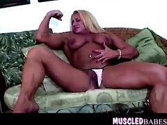 Extreme Gym Goddess Muscled Solo