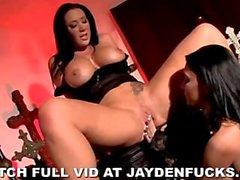 Jayden Jaymes e Jessica Jaymes Lesbian