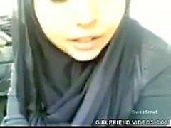 Iranian Girlfriend Car Blowjob