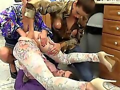Wam lesbo ass and pussy fisted