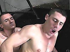 Two urheilijaa painonapit seksikkäitä Jock hihnojen osakkeen Dick ja perse !