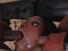 Whore Nyomi Banxxx likes the creamy blast she gets after a good hard fuck
