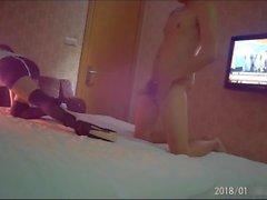 Kinesisk amatör 小 仙女 琳琳 Fairy Lin Hotel Fuck Del 2