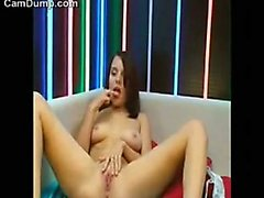 Pretty Cam Girl With Her Toy