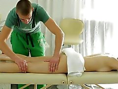 Mary Gets her Ass And Pussy Massaged By The Masseur