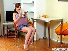 PregnantVicky gebenin Vicky 08 ( nokta) com