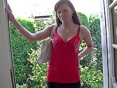 German babe in a casual anal creampie-BIBIXX