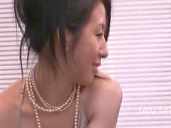 Asian babe is a cute babe getting pussy licked