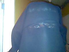 my eyes in niqab
