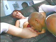 Young slut doing black guy