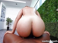 Asian 18 Year Old Gets Creampied By First Black Cock