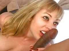 Give her some black cock anal