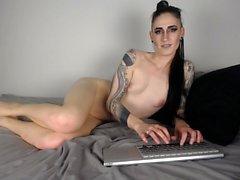 Geile Webcam Mädchen masturbieren süße Muschi