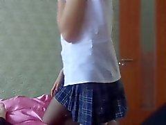 1fuckdatecom Schoolgirl style blowjob