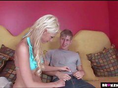 BrokenTeens Christine Alexis Surprised by