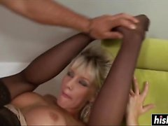 Natali DiAngelo in stockings loves to fuck