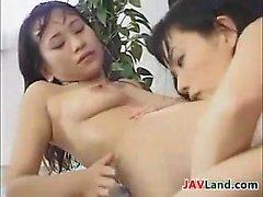 Japanese Lesbians Drinking Breast Milk