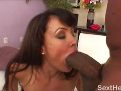 Lisa Ann Nailed Hard by Large Black Dick