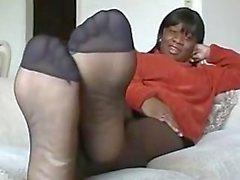 Ebony Pantyhose 4