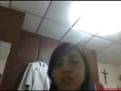 #0381 - Skype girl having fun