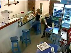 Security Cam - fuck in take away