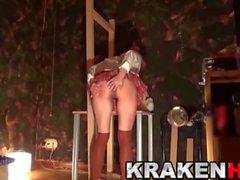 KRAKENHOT - BDSM onu ilk kez Schoolgirl