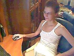 Sexy vrouw op cam